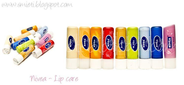 Pomadki Ochronne Nivea Szukaj W Google Nivea Lip Care Lips