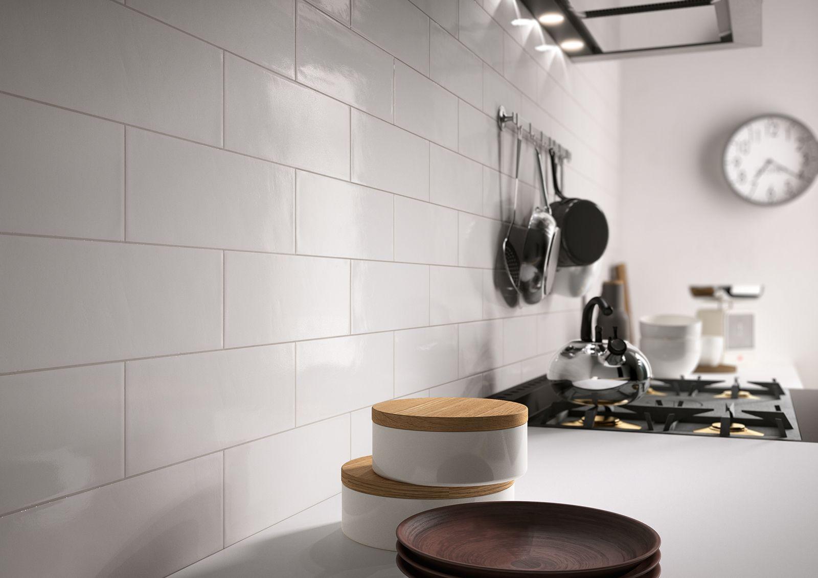 Brick Glossy – rivestimenti in ceramica per cucina e bagno | Kitchen ...