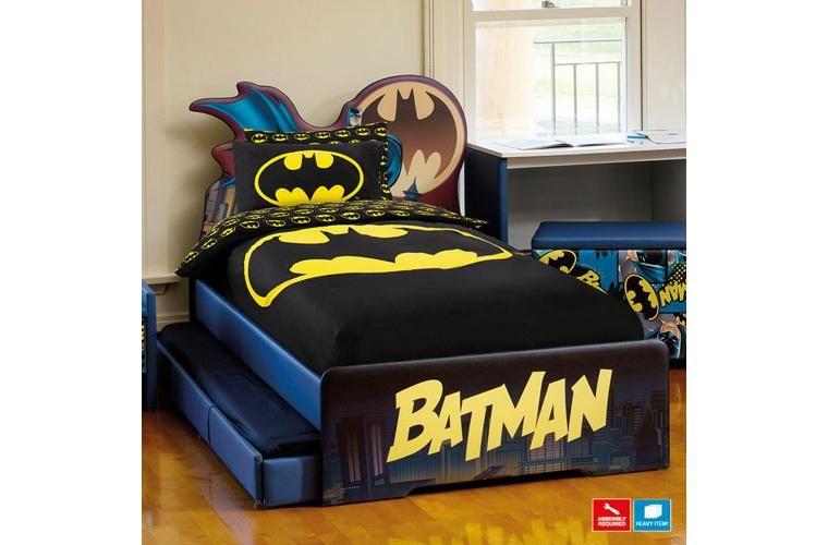 Batman Bed Batman Trundle Bed With Trundle Mattress
