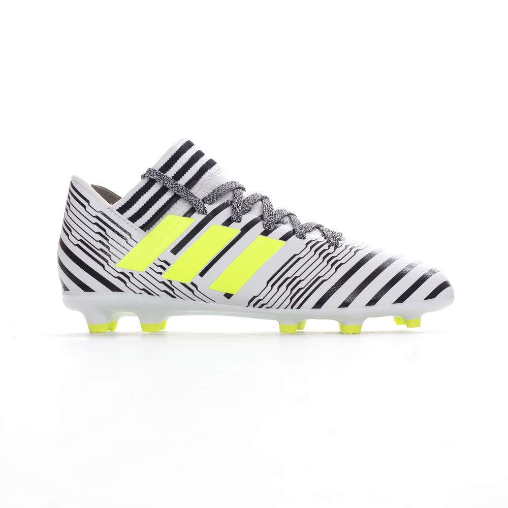 new style 34954 8f52f Chaussures De Enfants 17 Adidas Nemeziz 3 Football Blancnoir
