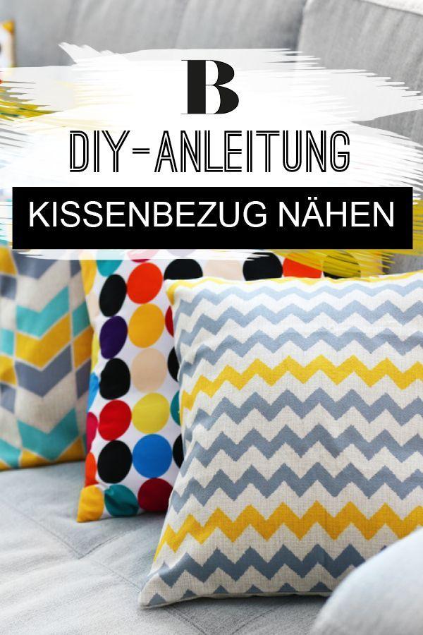 Photo of Kissenbezug nähen: Anleitung für Anfänger