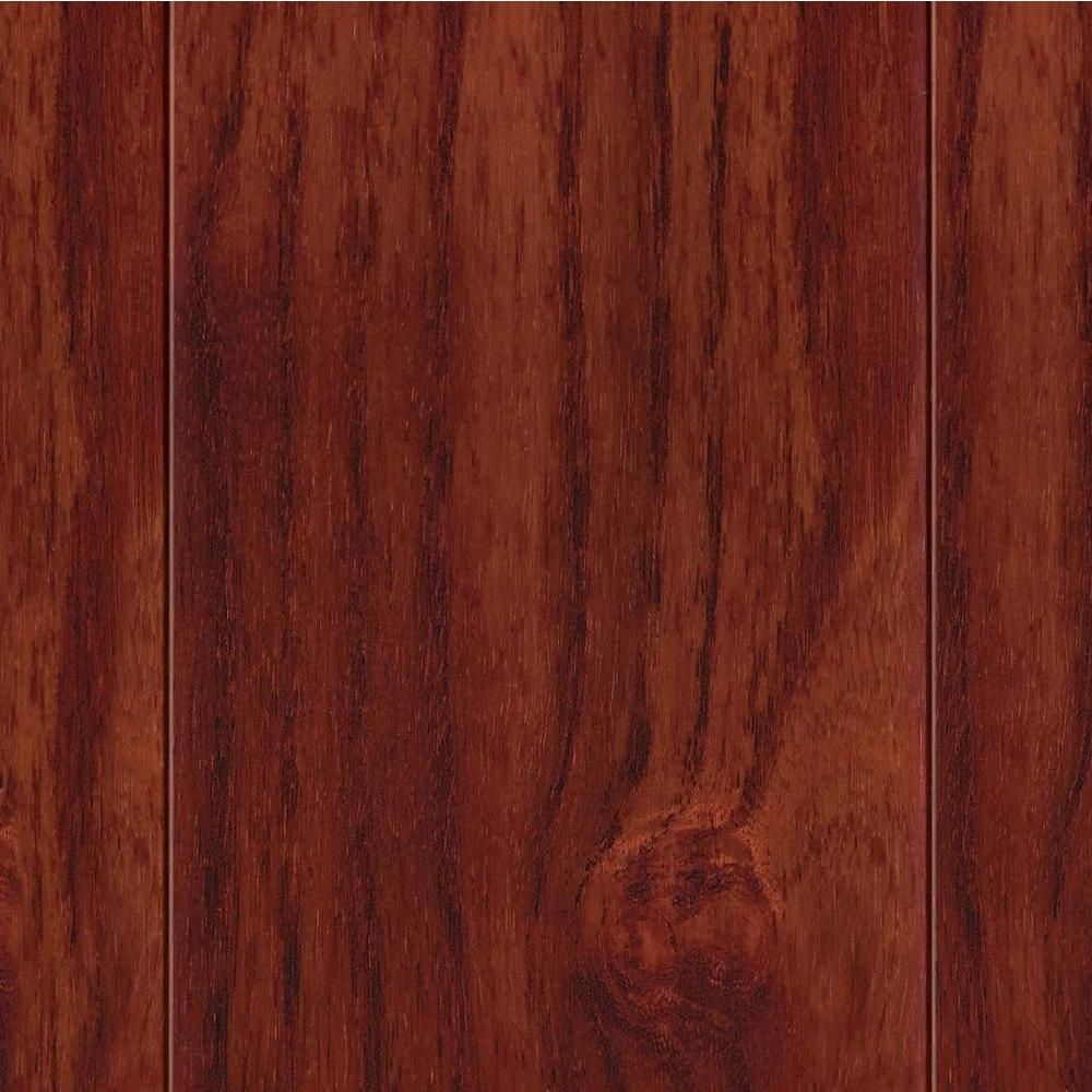 Home Legend High Gloss Teak Cherry 1 2 In T X 3 1 2 In W X Varying Length Engineered Hardwood Flooring 20 71 Sq Ft Case Hl101 Home Improvement Cherr