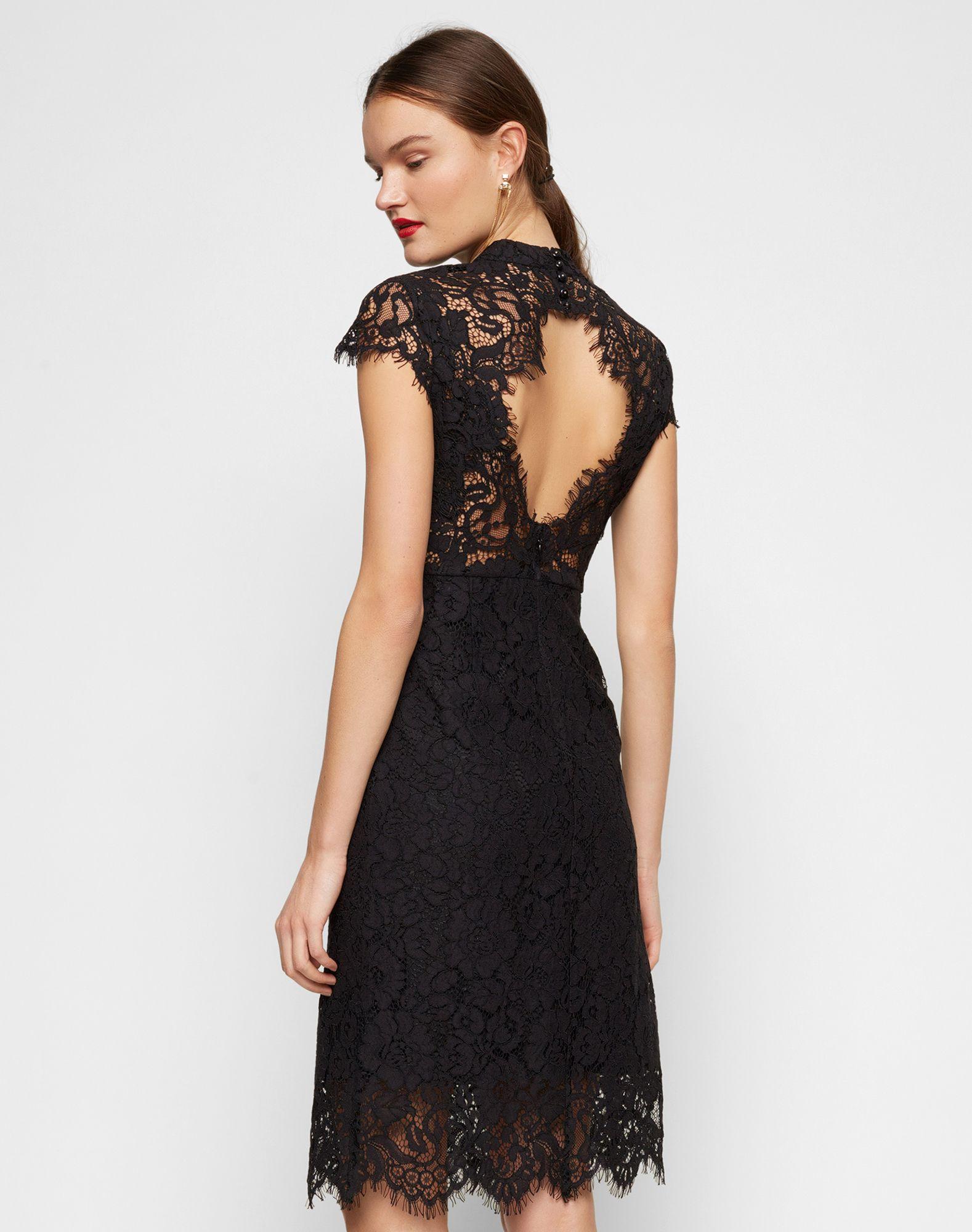 Cocktailkleid mit Rückenausschnitt | Buy Outfit | Pinterest