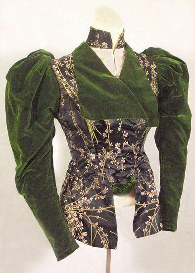 L. P. Hollander & Co. jacket, c.1895, from the Vintage Textile archives.