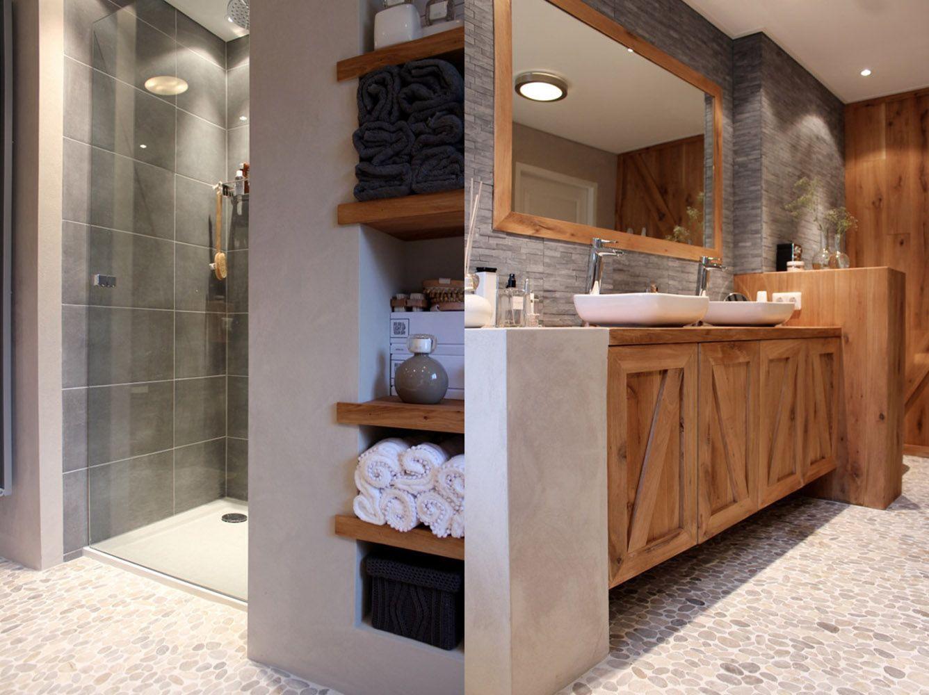 landelijke badkamer ontwerp en styling voor eh t eigen huis