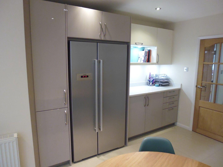 modern kitchen fridge freezer - Google Search | Apartment - Kitchen ...