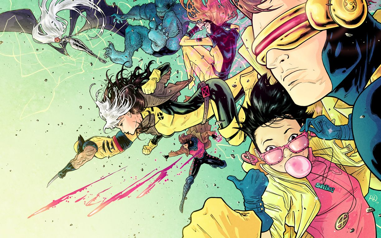 Kandid Kandor Russelldauterman X Men Print For Nycc Super Marvel Superheroes Artwork Comic Books Art Comics