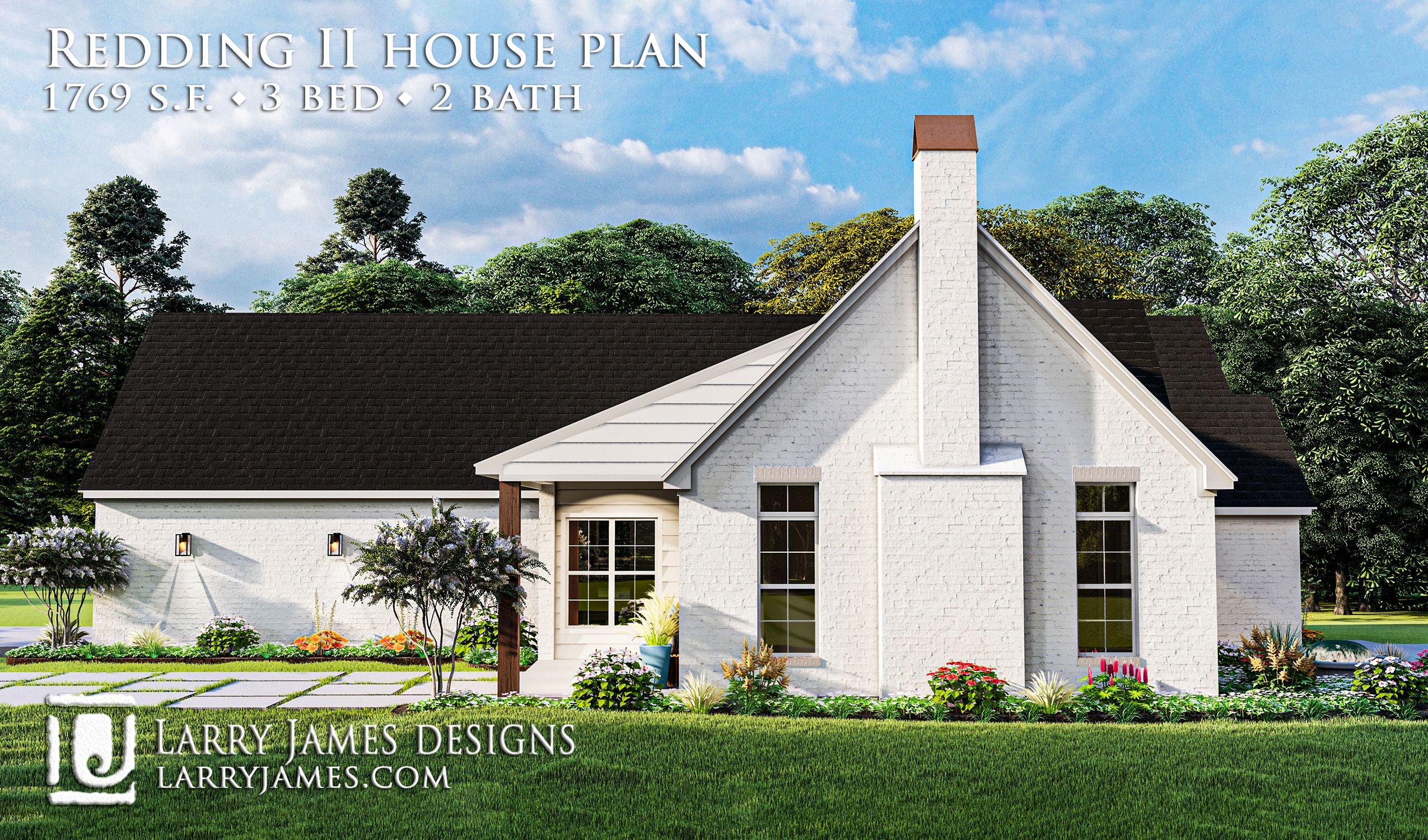 Redding Ii House Plan 20011 Cottage Style House Plans Country Style House Plans Cottage Style Homes