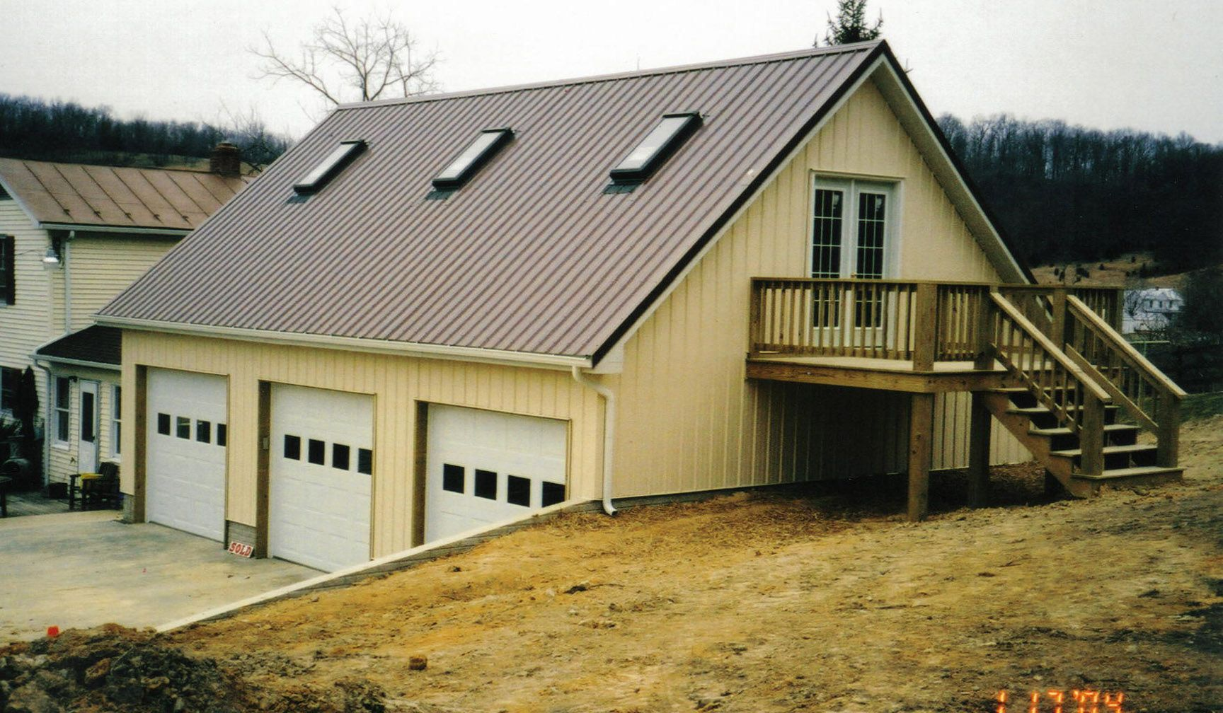 Awesome garage with living quarters 4 garage shop with for Shop building plans with living quarters