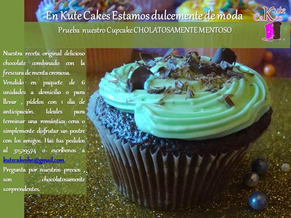 Chocolatosamente Mentoso otro placer de Kute Cakes