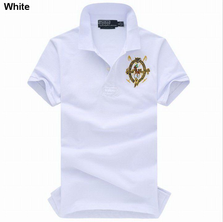 Polo Ralph Lauren Men Cotton Mesh Short Sleeve Shirts White