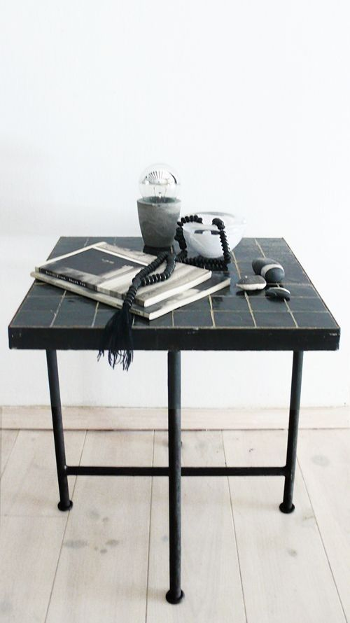 Tiled Moroccan Side Tables for a Song  Remodelista Tiled Moroccan Side Tables for a Song  RemodelistaAltan Moroccan Tile Table  Remodelista home decor house projects side...
