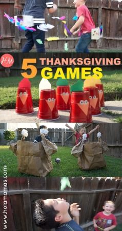5 super fun thanksgiving games for kids and family Fun family thanksgiving games