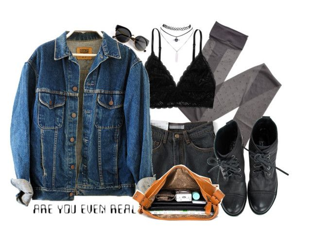 """Doesn't seem real to me"" by yazzyf ❤ liked on Polyvore featuring moda, Gerbe, Monki y Wet Seal"