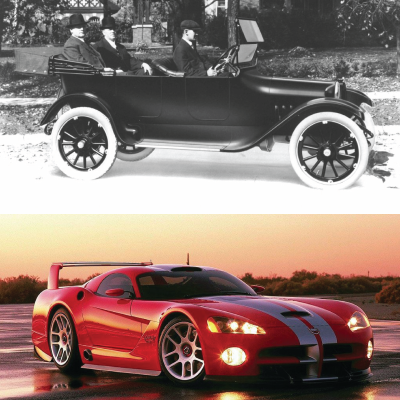 in 1914, the Dodge brothers built their first car in Hamtramck ...