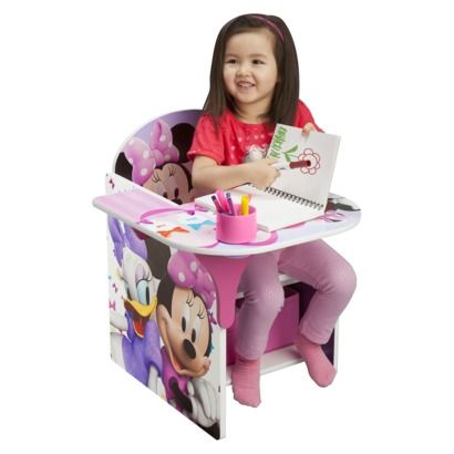Delta Children S Products Chair Desk With Storage Bin Minnie Mouse