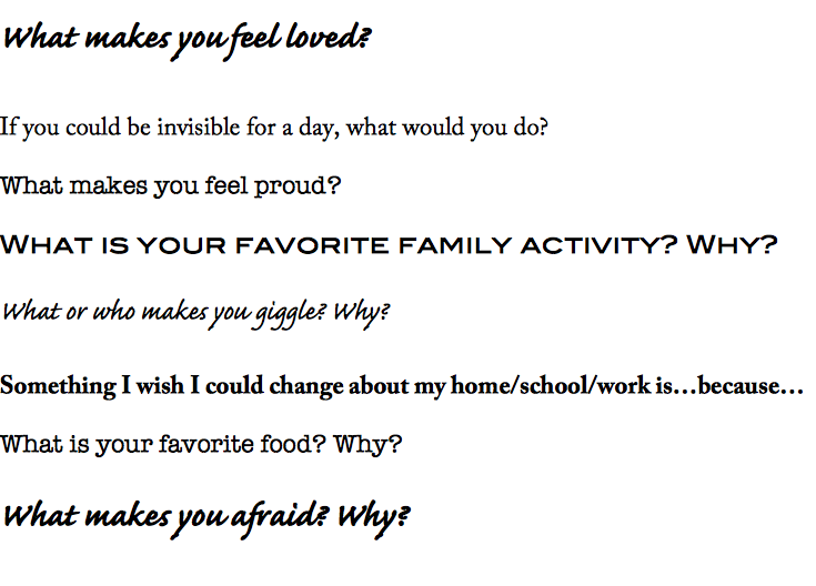 Good Questions To Start A Conversation