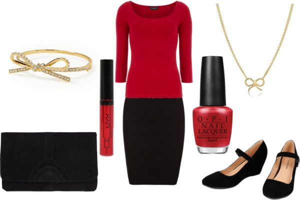 """Dressy Holiday Party"" by byteme on Polyvore"