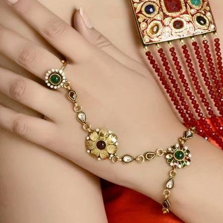 Simple Beautiful Finger Ring Bracelets 2016