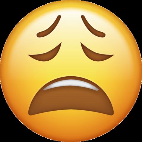 Tired Emoji Free Download Ios Emojis Emoticons Emojis Emoji Ios Emoji