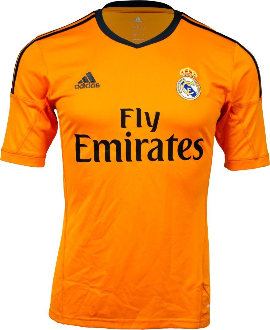 cc295b15b425 Real Madrid-orange Jersey Football Jerseys