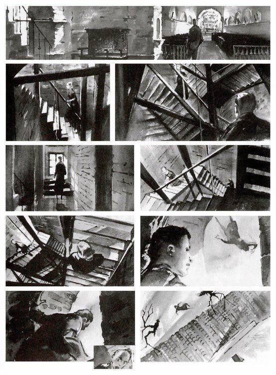 Storyboards From Vertigo  Storyboards Y Animticos