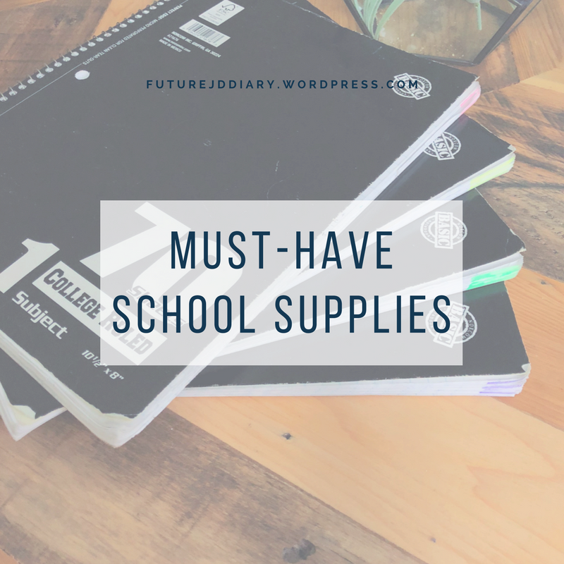 Must-Have School Supplies for Law School | Law School | Law