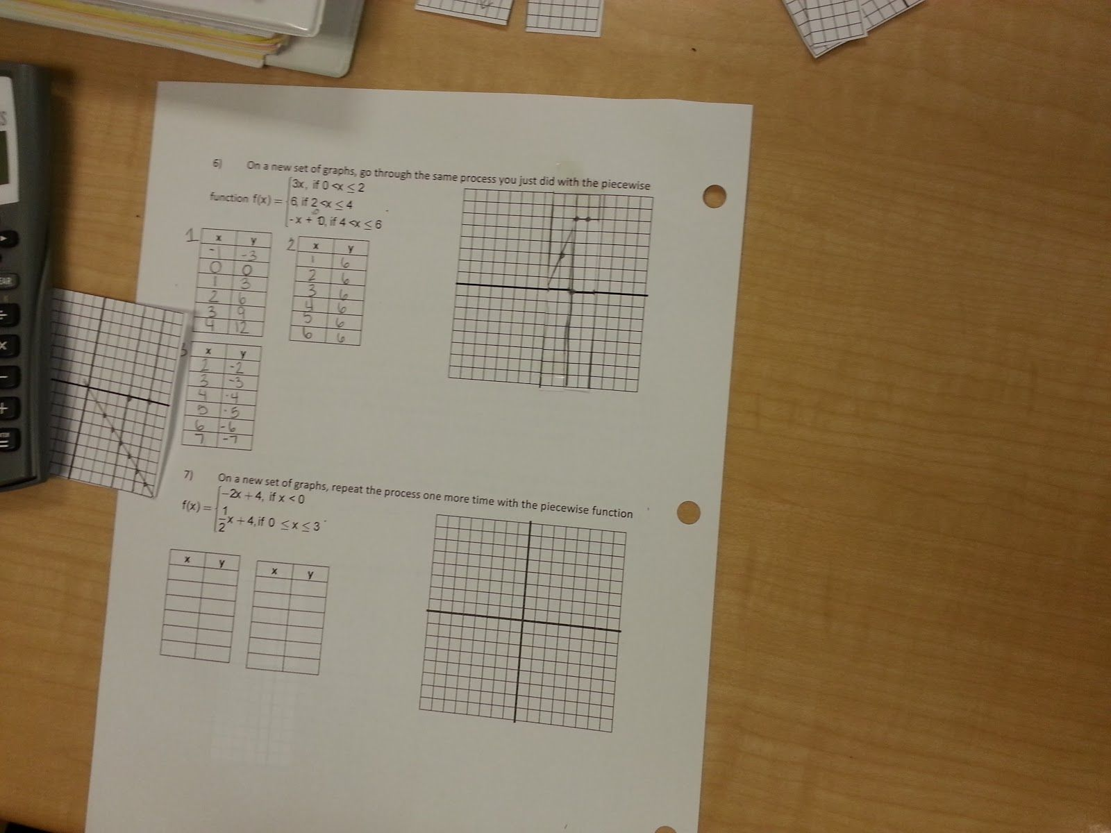 Piecewise Functions ~ An
