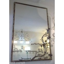 Wrought Iron Frame design for Mirror or Photo. Customize Realizations. 826