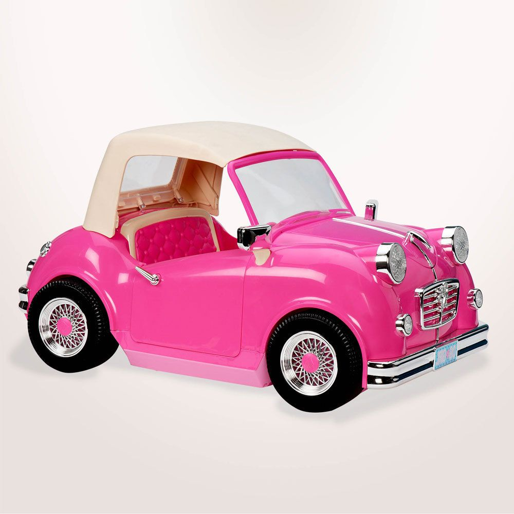 """NEW Lori Doll Convertible Car Our Generation White fits 6/"""" American Girl Dolls"""