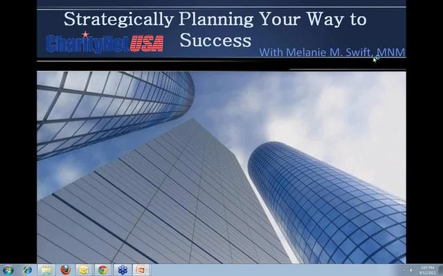 Developing a Strategic Business Plan with Melanie M. Swift MNM by ...