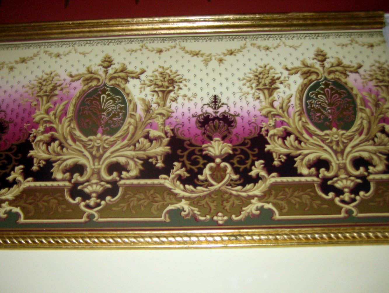 victorian wall paper border styles 1860 reproduction on border wall id=92308