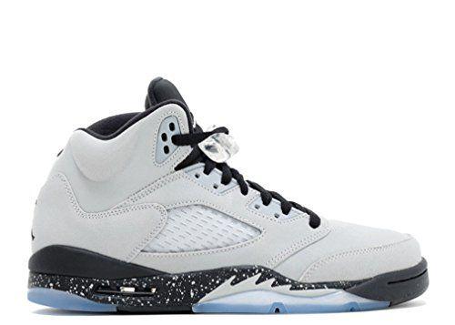 more photos 2ff68 573f4 amazon size 35 youth nike air jordan 5 retro gg wolf grey 440892 008  sneakers you