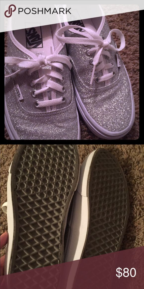 2609c9a102 Selling this Vans Glitter shoes 8 1 2 on Poshmark! My username is  jamiez.   shopmycloset  poshmark  fashion  shopping  style  forsale  Vans  Shoes