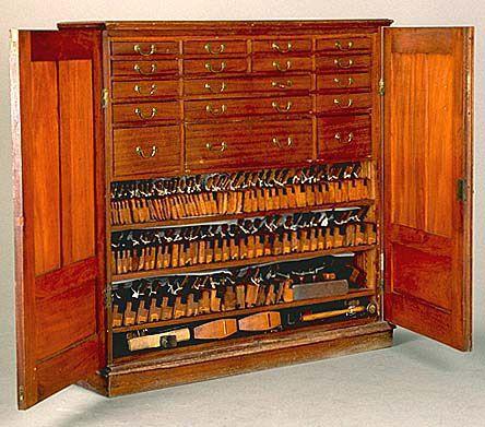 This Stunning Cuban Mahogany Tool Cabinet Was Made By Arthur Sorrill