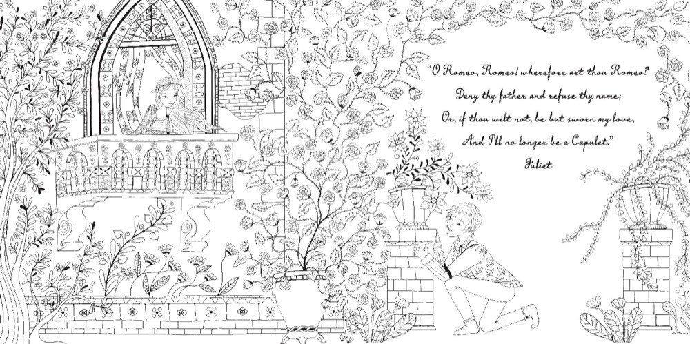 Resultado De Imagem Para Story Romeo And Juliet For Coloring