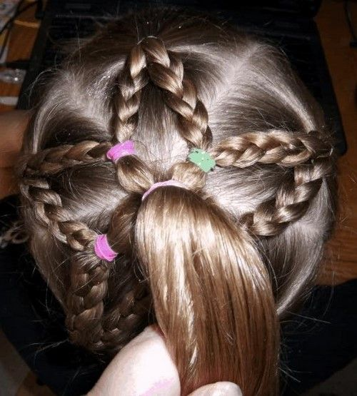 The Most Beautiful Hairstyles For Girls: Photo Ideas And Tips For Mothers - Hairstyleto Girls - Hair Beauty