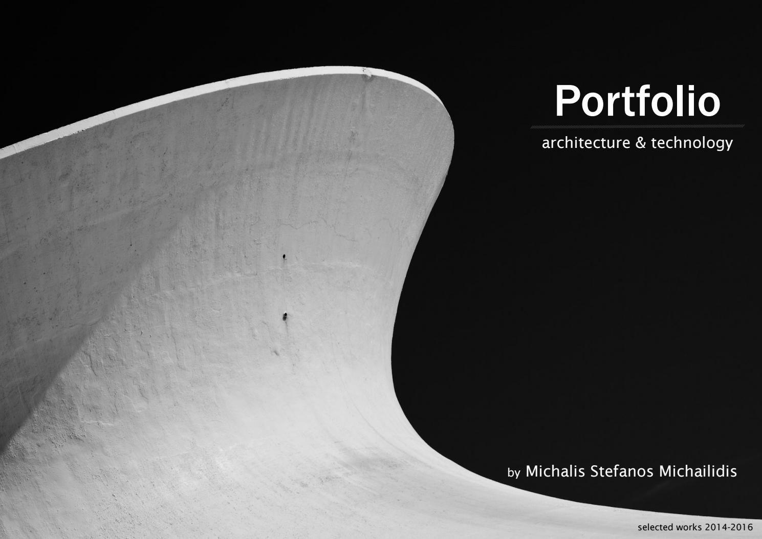 Architecture & technology portfolio Portfolio