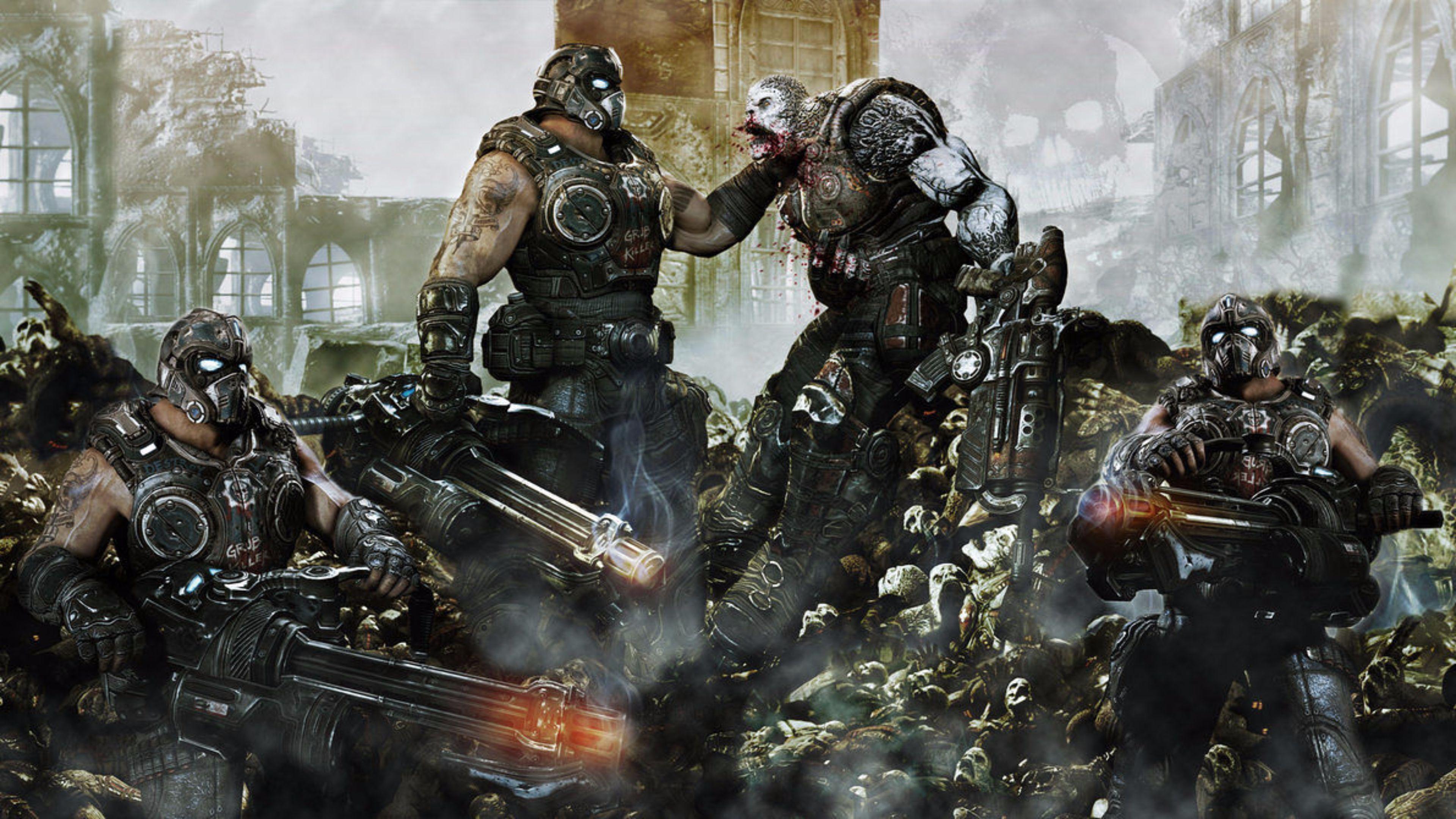 Gears Of War 4 Wallpaper Photo Click Wallpapers Gears