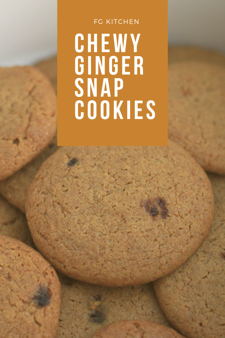 Ginger Snap Cookies Ingredients 3 4 Cup 170 Grams Unsalted Butter Room Temperature 1 2 Cup 105 Grams Dark Br Ginger Snap Cookies Chewy Ginger Snaps