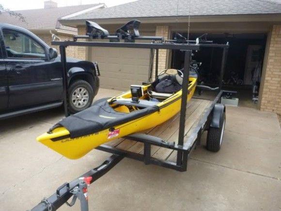 Storing Bikes On Boats: Image Result For Bike Kayak Trailer