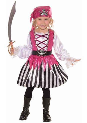 Blushing Buccaneer Girls Pirate Halloween Costume $3999 The - princess halloween costume ideas