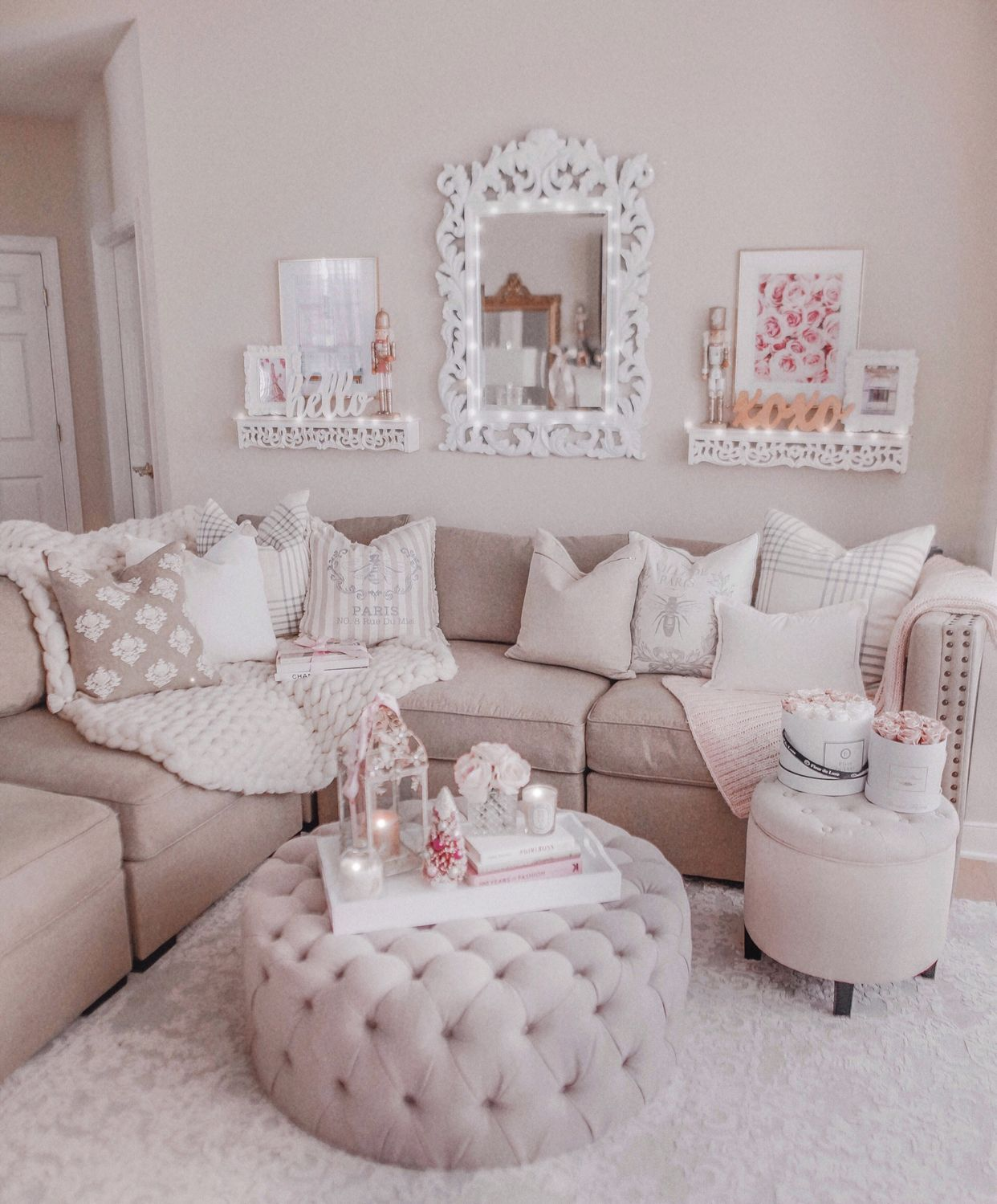 Jadore Lexie Couture Bloglovin Girly Living Room Romantic Living Room Pink Living Room Romantic living room decor
