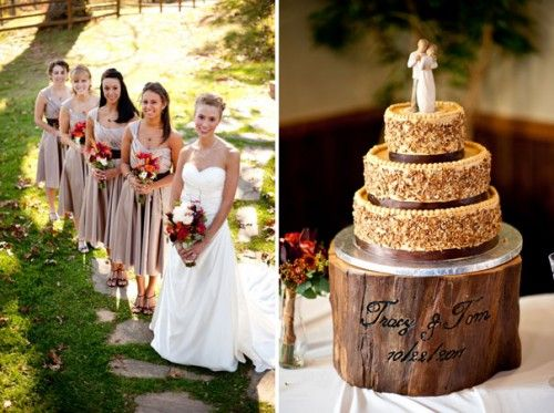 Country Autumn Wedding Decoration Ideas | Elegant And Rustic Fall DIY  Asheville Wedding
