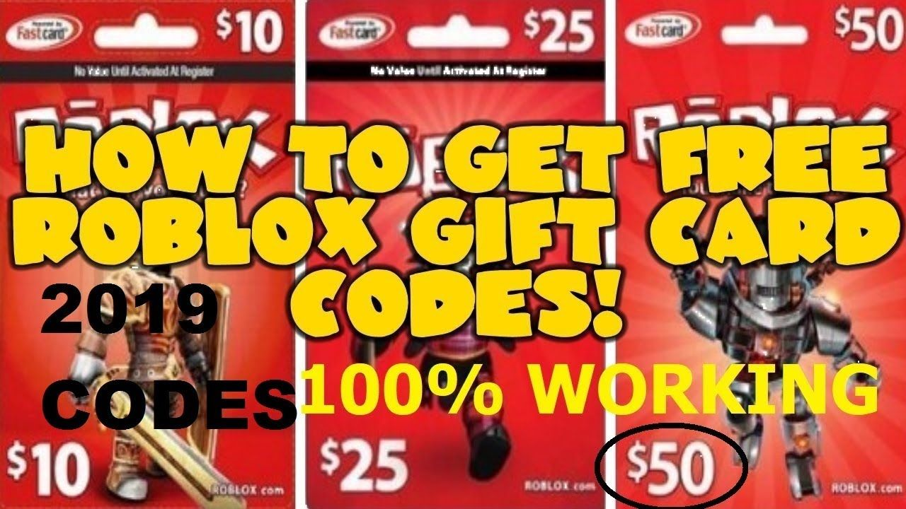 Free Roblox Gift Card Codes || roblox free robux || Robux Codes 2019