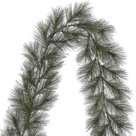 Holiday Time Unlit 9 Rochester Pine Artificial Christmas Garland