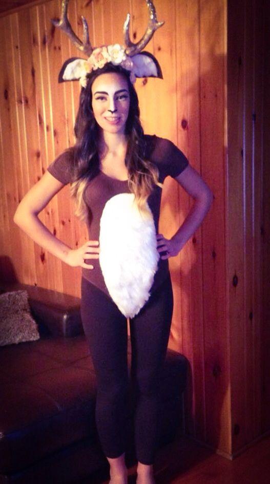 Deer costume  sc 1 st  Pinterest & Deer costume | Deer costume ideas | Pinterest | Deer costume ...