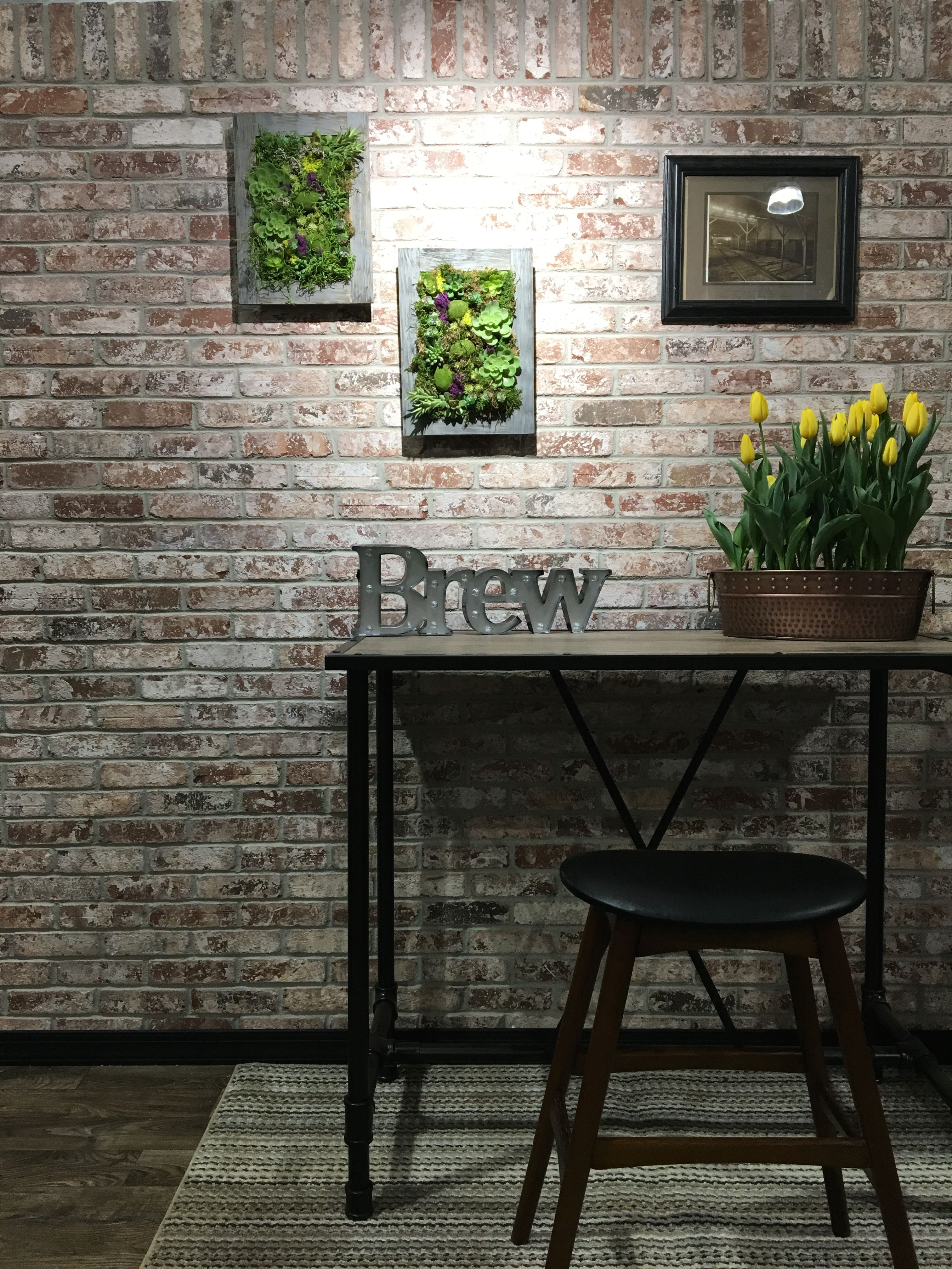 Glen Gery Brick On This Beautiful Accent Wall Featured Is Olde