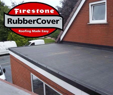 Ensor Supplied A Residential Rubber Cover Epdm Firestone Rubber Roofing System To A Local Builder So He Can Make Watertig Roofing Rubber Roofing Epdm Roofing