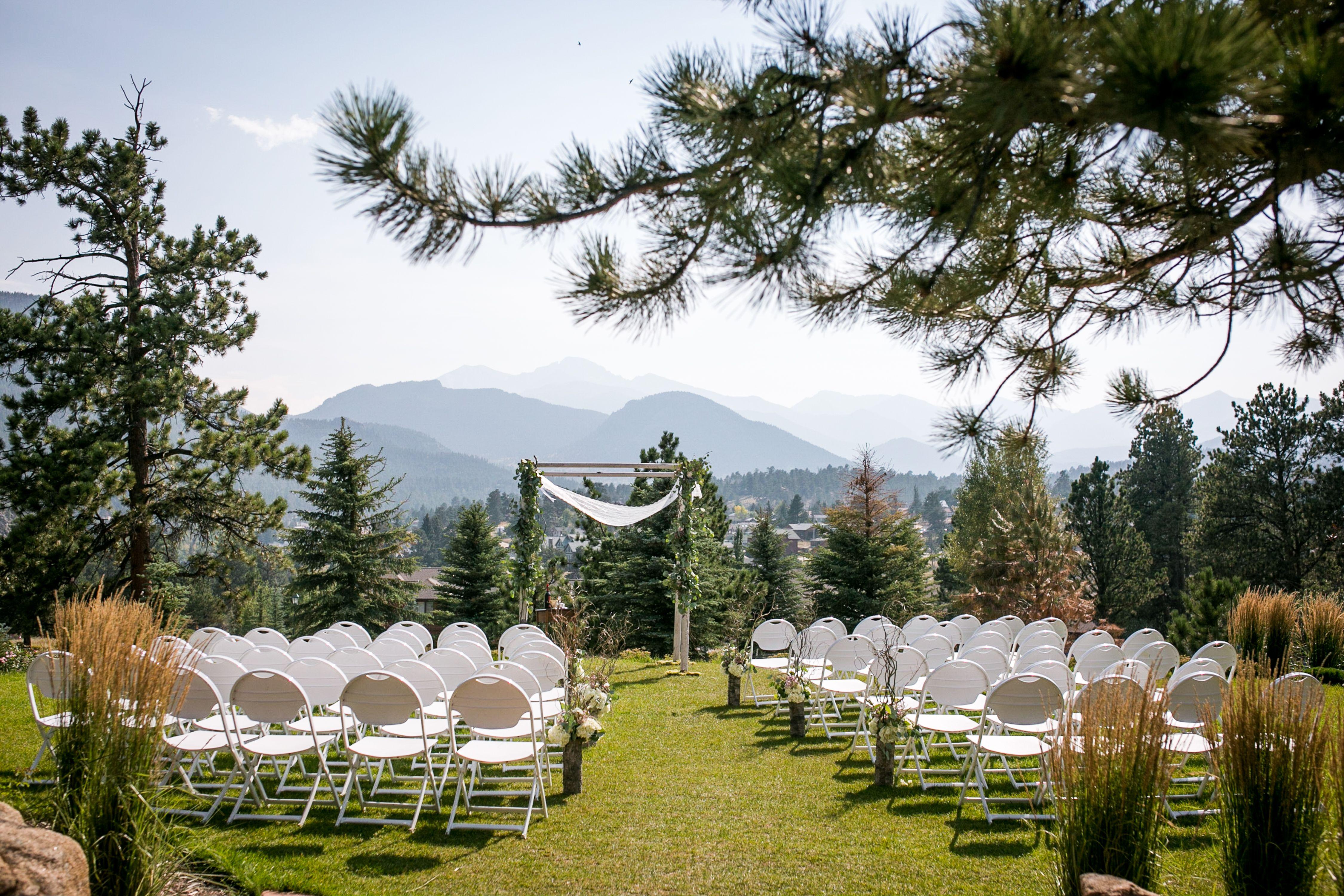 Longs Peak Lawn at The Stanley Hotel Outdoor wedding venues